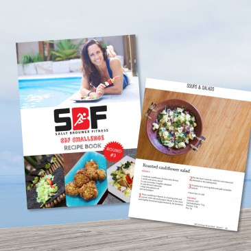 SBF Challenge #3 recipe book design