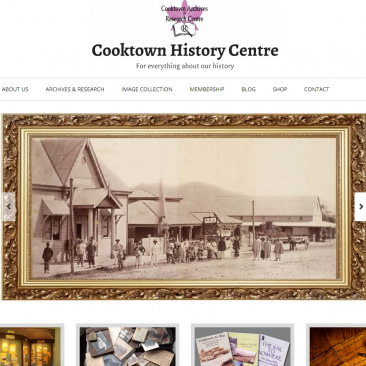 Cooktown History Centre website