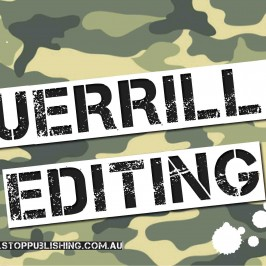 Guerilla editing: spelling and grammar fails