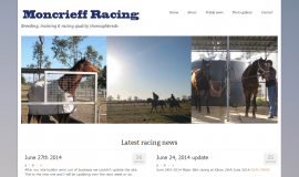 Moncrieff Racing website