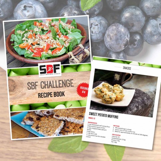 Sally Brouwer Fitness ebook design