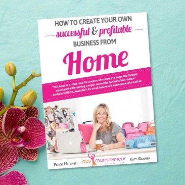 AusMumpreneur book design