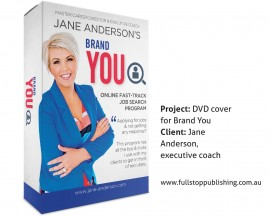 DVD cover design – Brand You