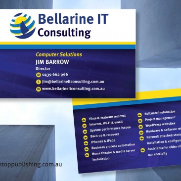 Business card design – Bellarine IT