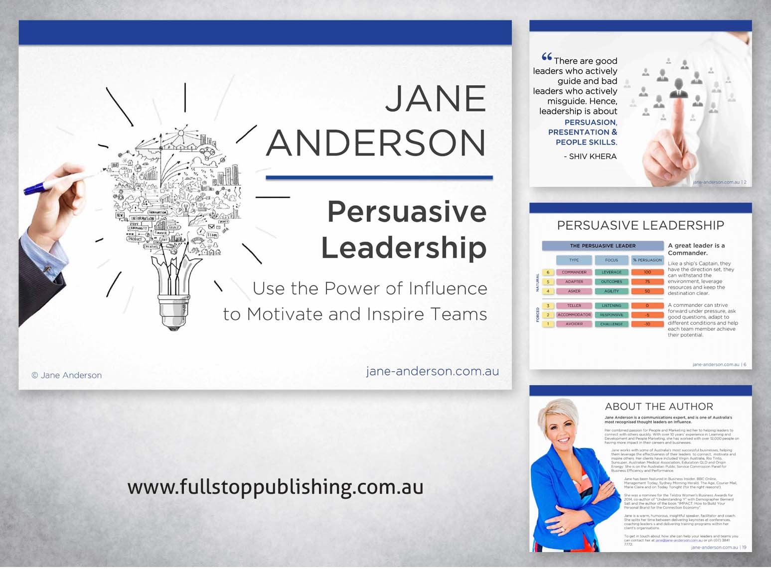 persuasive leaders All the extremely successful people i know -- and all the great leaders i know -- are exceptionally good at persuading other people to follow them (maybe that's why mark cuban says knowing how to sell is the one skill everyone needs to be successful) but being persuasive doesn't mean you have to.