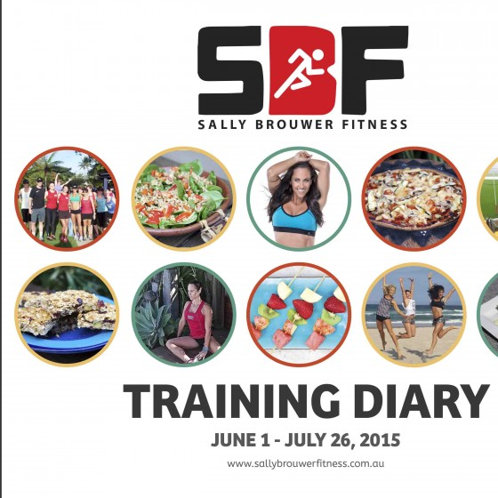Fitness training diary design