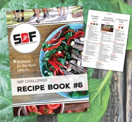 Recipe book design, SBF Challenge #6