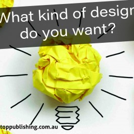 What kind of design do you want?