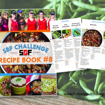 E-book design – SBF Challenge #8 Recipe Book
