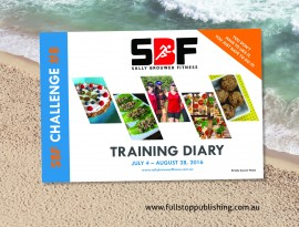 E-book design – SBF Challenge #8 training diary