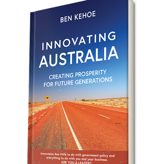 Book cover design – Innovating Australia
