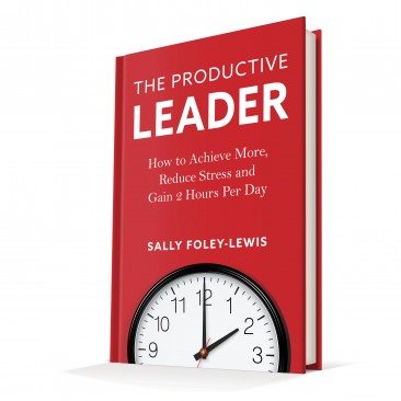 Book cover design: The Productive Leader
