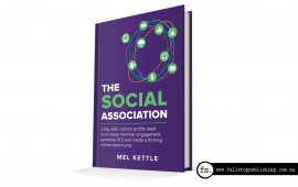Book cover design – The Social Association