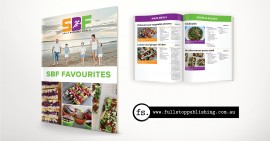 Recipe e-book design – SBF Favourites
