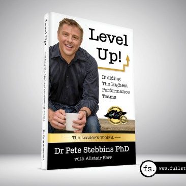 Book cover design – Level Up!