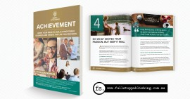 E-book design and editing – Achievement book