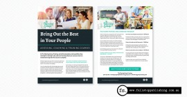 Brochure design – The Deering Group Training