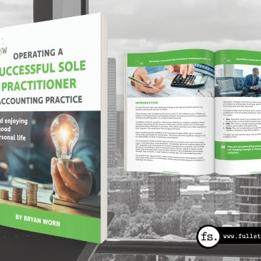 Sole Practitioner Accountants whitepaper – e-book design and editing