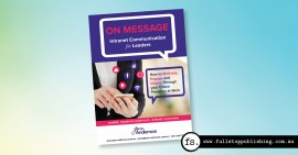 E-book cover design – On Message