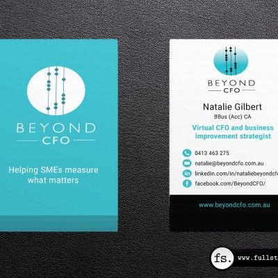 Business card design – Natalie Gilbert
