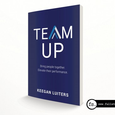 Book cover design – Team Up