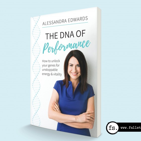 DNA of Performance book cover design