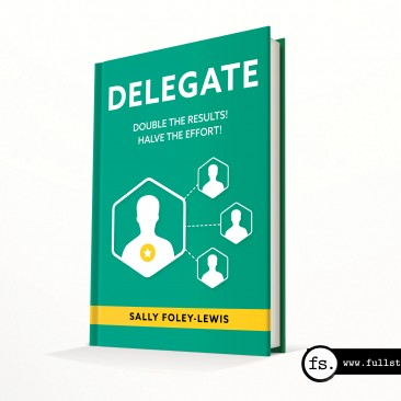 Book cover design – Delegate