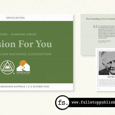 A Vision for You: Alcoholics Anonymous Souvenir Book