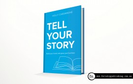 Tell Your Story book cover design