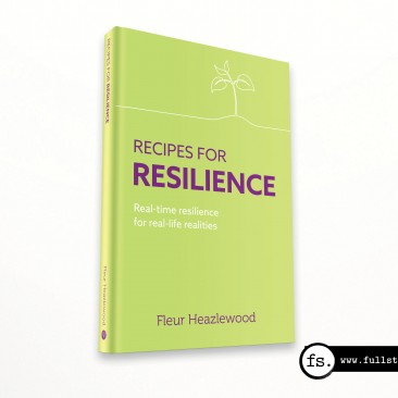 Recipes for Resilience book cover design