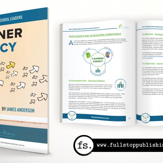 White paper editing and design – Learner Agency